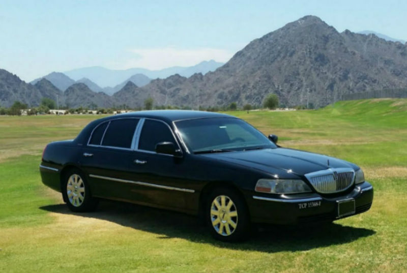 First Class Limo Palm Springs Sedan Service