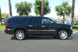 First Class Limo Palm Springs Black SUV