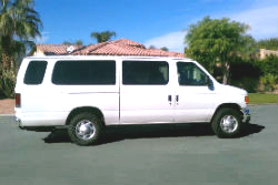 First Class Limo Palm Springs Van Service
